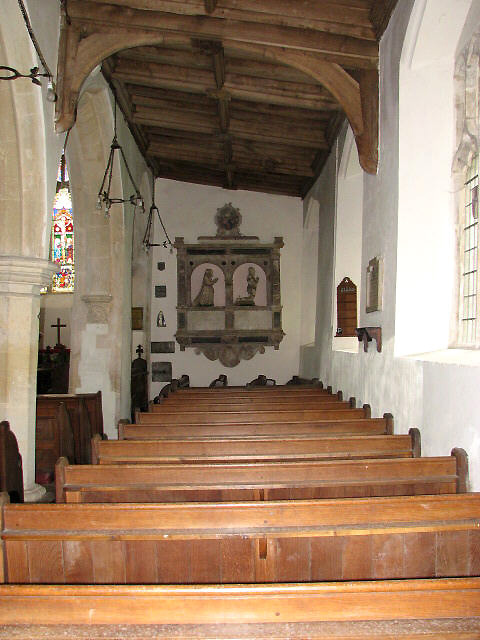 St Mary's church - south aisle