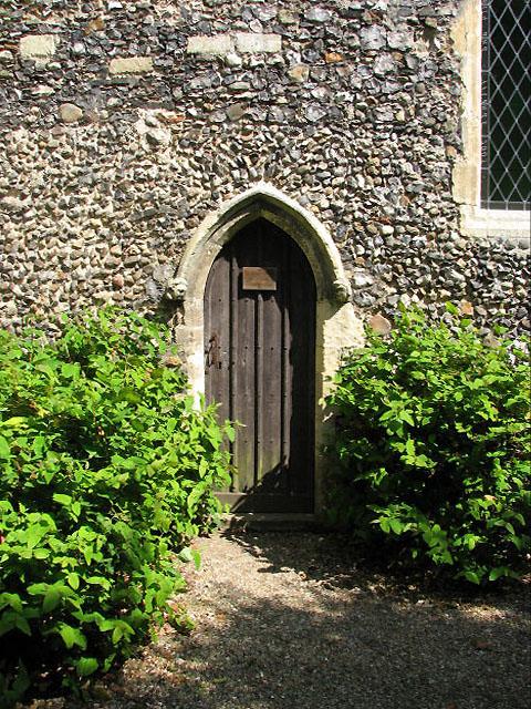 St Botolph's church - priest door