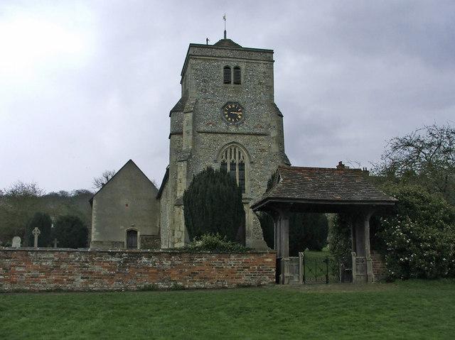 St Botolph's Church, Bradenham, Buckinghamshire