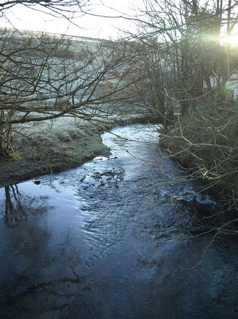 River Inny at Treglasta Bridge