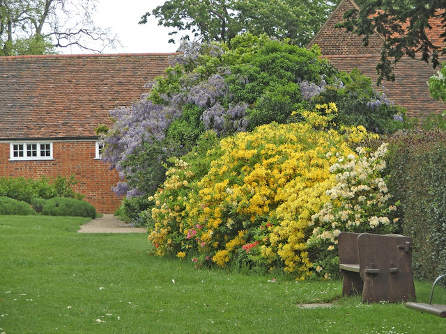Garden at Forty Hall, Enfield