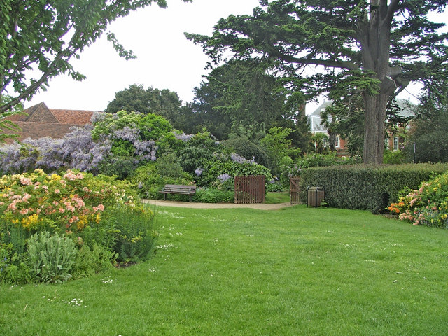 Entrance to Garden, Forty Hall, Enfield