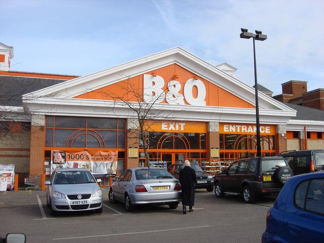 B & Q, Bury St Edmunds
