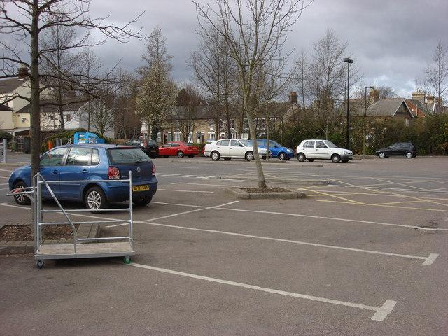 B & Q car park, Bury St Edmunds