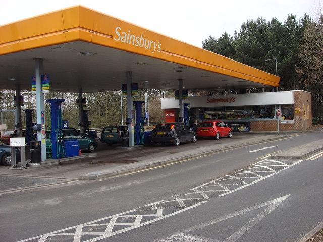 Sainsbury's Petrol Station, Bury St Edmunds