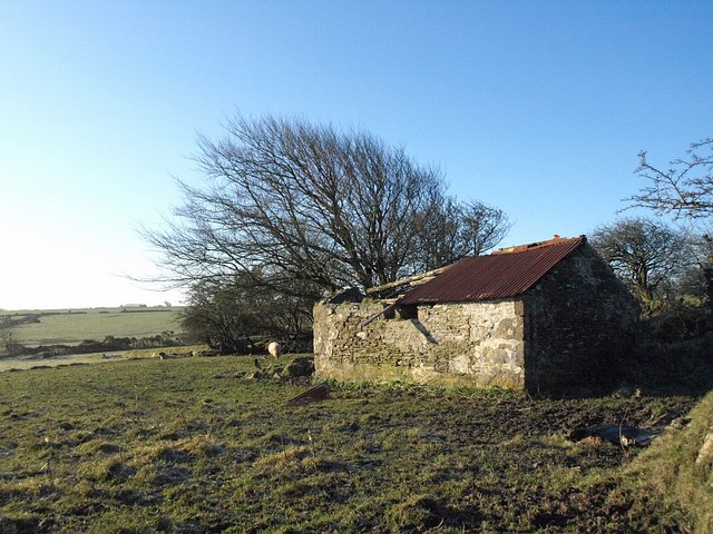 Derelict barn, Lower Newhouse