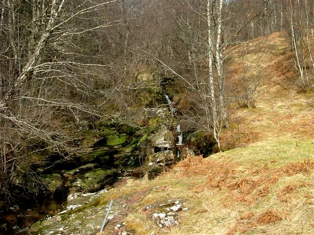 Small Waterfall on the Allt a' Bhiora