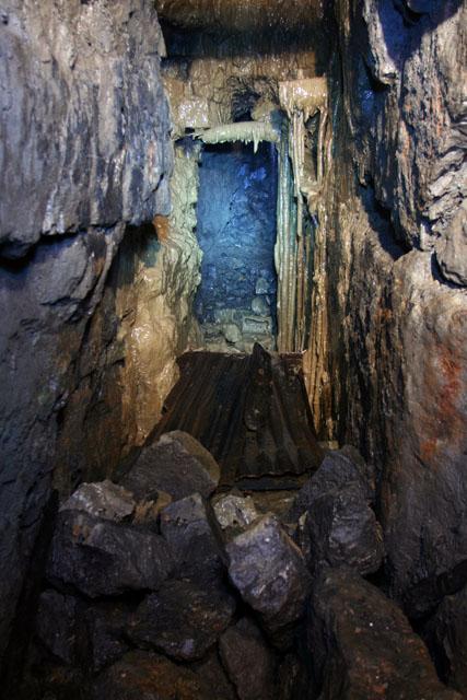 Calcite flowstone