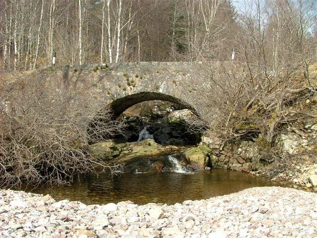 Bridge over the Allt a' Bhiora