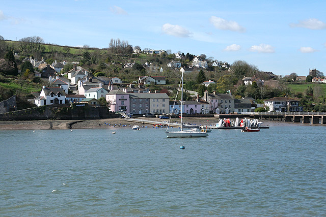 Kingswear: view to Dittisham