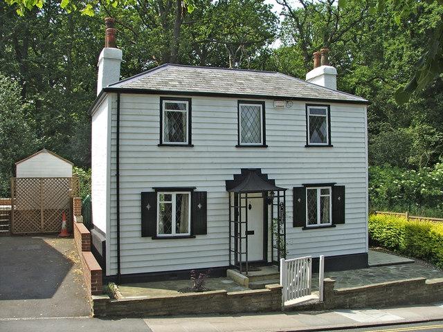 Clapboard Cottage Church Hill, Winchmore Hill, London N21