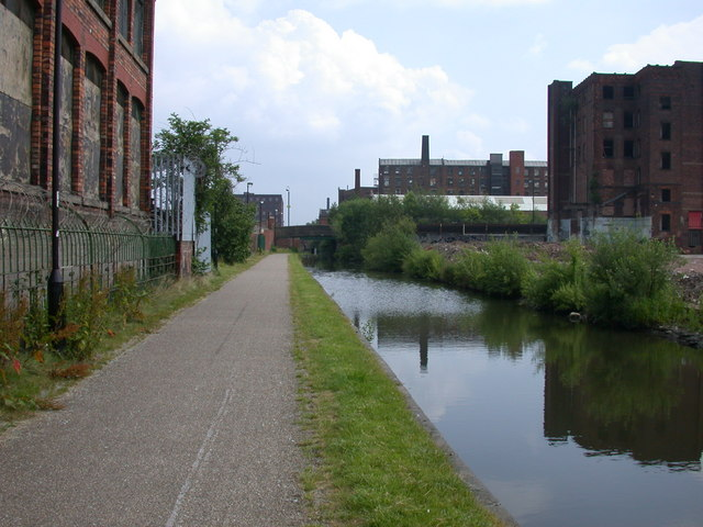 Ashton Canal, Ancoats