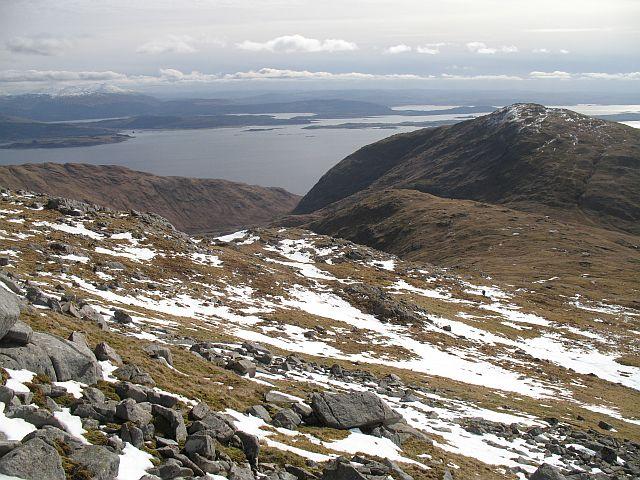 South ridge of Fuar Bheinn