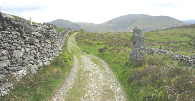 Track to Pen-y-bwlch