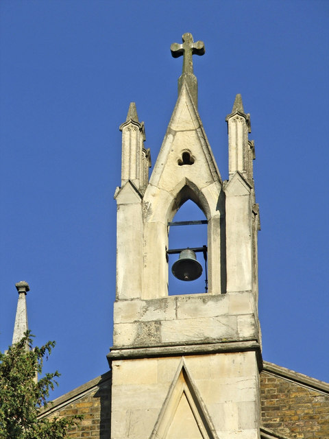 Bell Tower, St Paul's Church, Church Hill, London N21