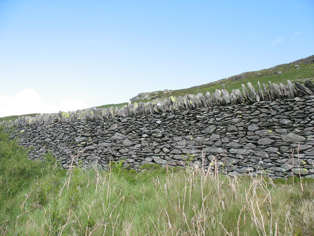 Mountain wall