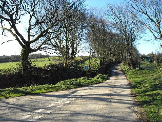 Lane at Tremail
