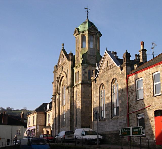 Methodist Church in the Morning Sunlight