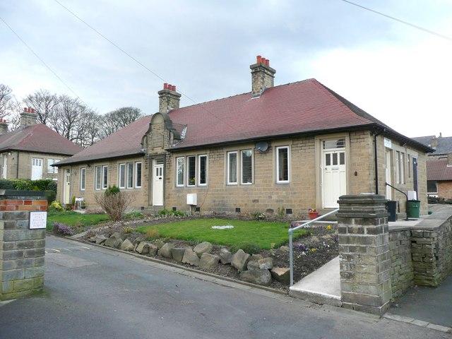 Parkin's Almshouses, Old School Lane, Almondbury