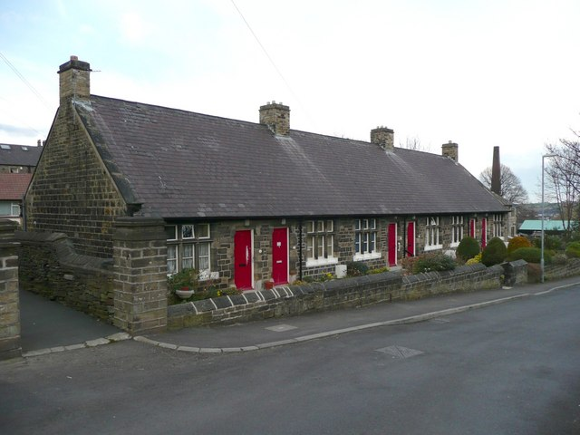 Nettleton's Almshouses, Old School Lane, Almondbury