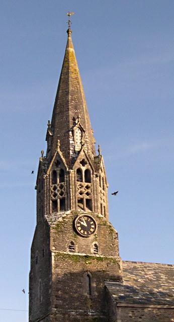 The Spire of St Bartholomew's Church