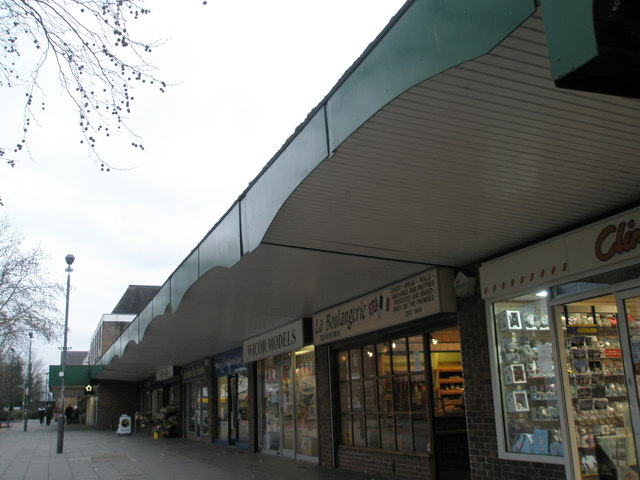 Shops in Portchester Precinct