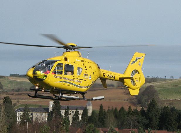 Scottish Ambulance Service Helicopter