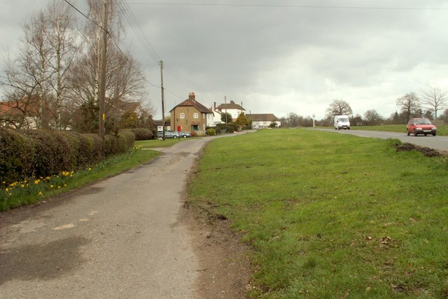 Part of the small green at Navestock Side