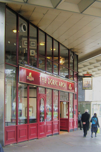 The Doric Arch Pub, Euston Station, London WC1