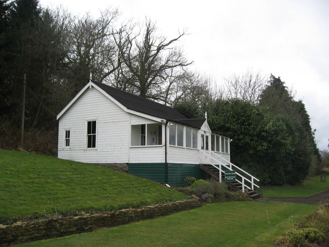 Clubhouse of Tynedale Tennis Club