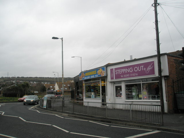Shops near The Railway  Roundabout, Portchester
