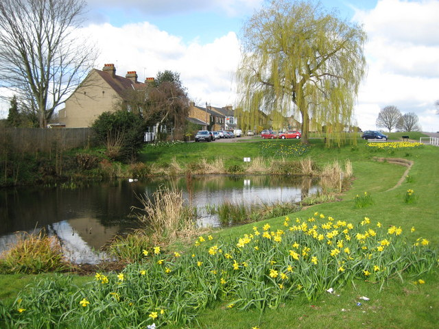 Sarratt: The Cricketers Pond