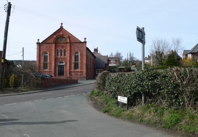 Bryn Seion Methodist Chapel, Trevor