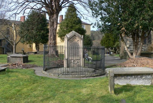 """Tomb of the """"Ladies of Llangollen"""""""