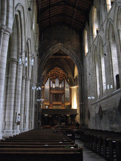 The Nave, Hexham Abbey (2)