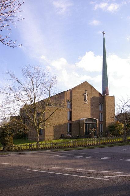 St Thomas's Parish Church, Prince George Avenue, London N14