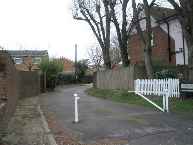 Cow Lane, Portchester