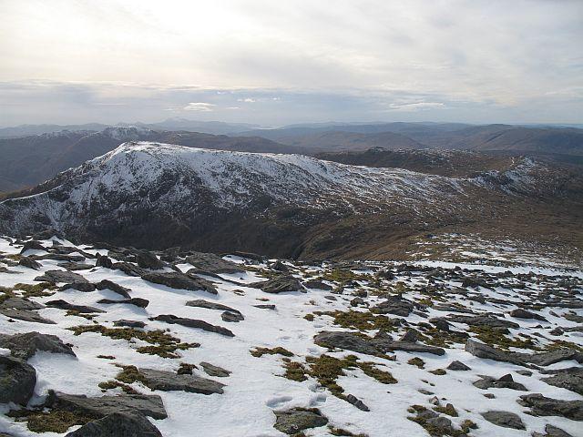 West ridge of Creach Bheinn