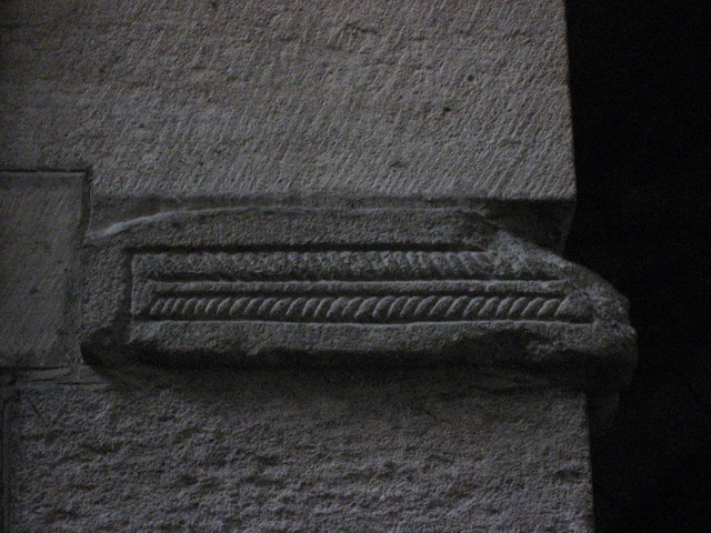 7th/8th C patterned frieze, West Doorway