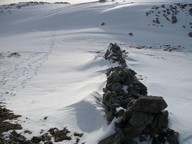 Summit area, Creach Bheinn