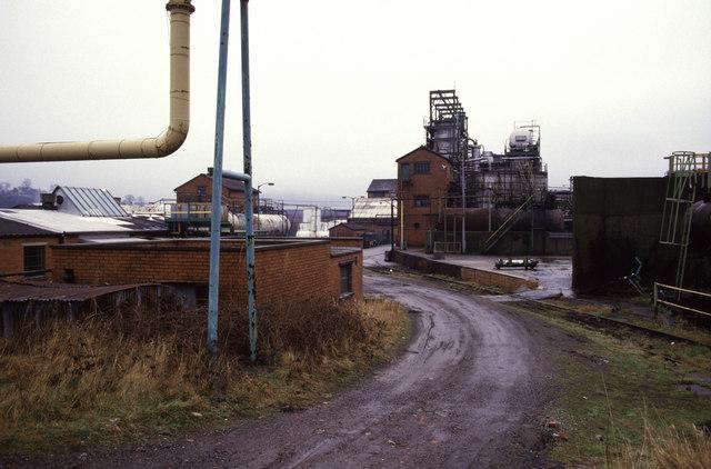 T Ness, Caerphilly Tar Distillation Works