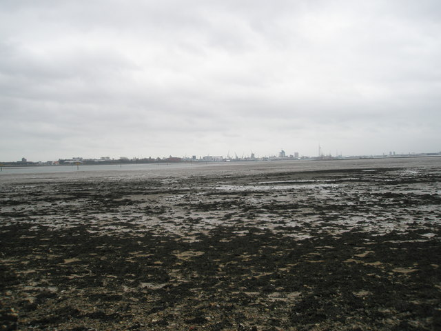 Mudflats at Portchester
