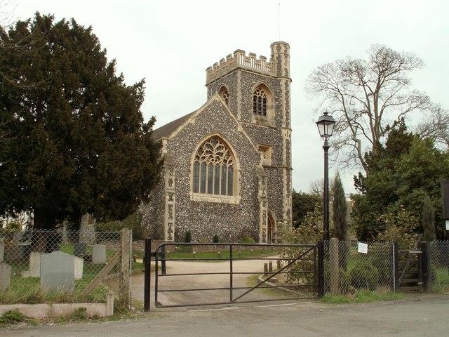 St. John the Evangelist; the parish church of Havering-atte-Bower