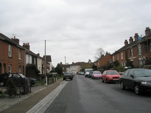 A gloomy day in Castle Street