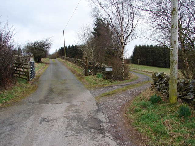 Entrance to Auchencairn
