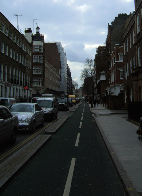Cycle Path, Tavistock Place, London WC1