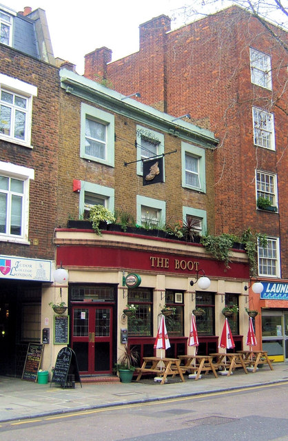 The Boot Pub, Cromer Street, London WC1