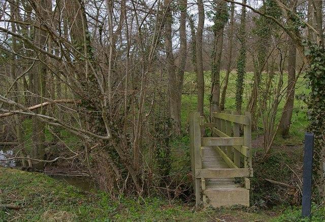 High Weald Footbridge