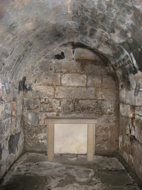 The 7th C Crypt, Hexham Abbey - main chamber
