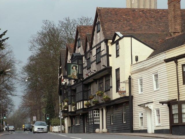 'The Olde Kings Head' inn